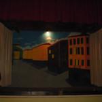 Il palco del teatro