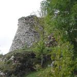 I resti di una torretta della fortezza