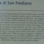 Locandina chiesa di San Frediano