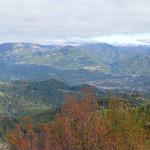 Castelnuovo Garfagnana visto da Sassi